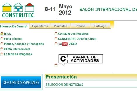 Portal oficial de la triple feria y I Semana Internacional de la Construcción.