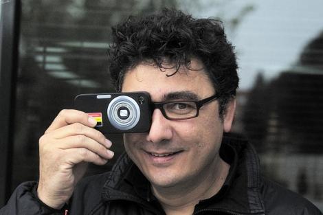 El fotógrafo de France Press Pedro Armestre.| Alberto Cuéllar