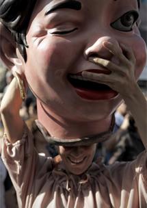 Gigantes en las fiestas.| Alberto Di Lolli