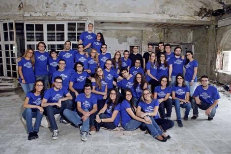 Los empleados y fundadores de Jobandtalent. | El Mundo