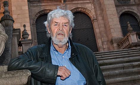 Xosé Manuel Beiras, durante una entrevista con ELMUNDO.es. | Román Novoa