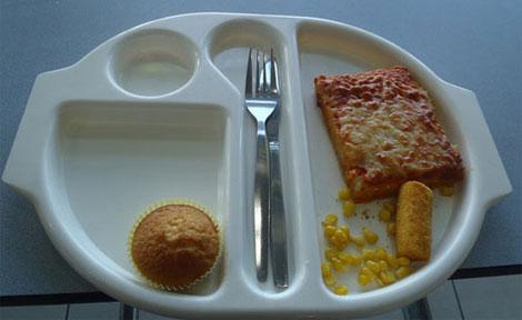 Otra de las frugales comidas de Martha Payne. | 'Neverseconds'