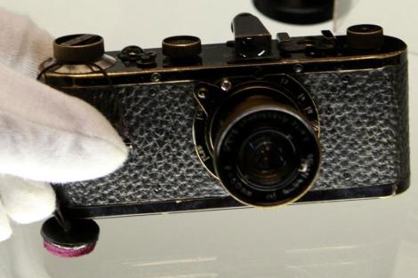 La cámara Leica subastada.| Reuters