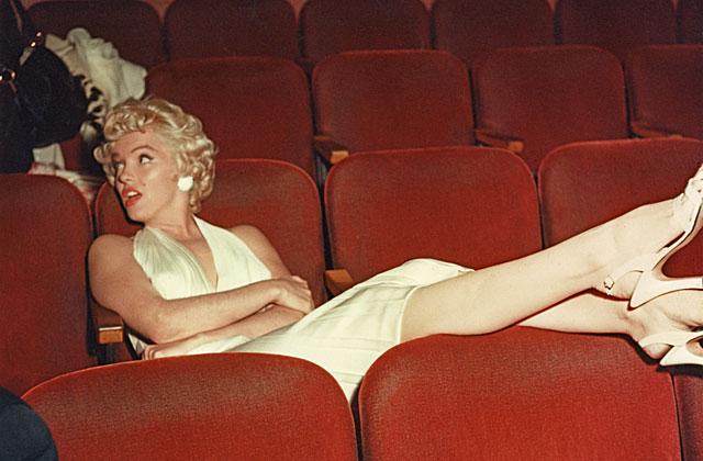 Marilyn Monroe, en 1954, el día que presentó 'La tentación vive arriba'. | Bernard of Hollywood