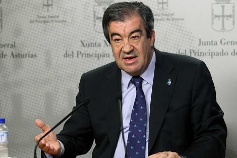 Francisco Álvarez Cascos, durante una comparecencia de prensa. | Efe