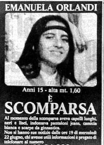 El cartel de la desaparecida.