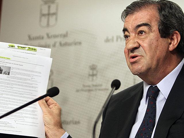 Cascos, el lunes, en su comparecencia para pedir cuentas a Rajoy. | Efe
