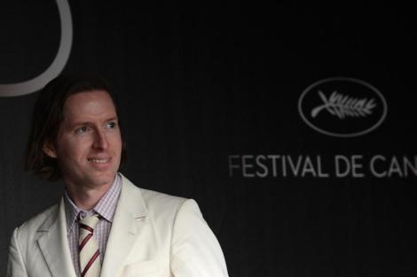 Anderson durante la presentación de 'Moonrise kingdom'.   Jean-Paul Pelissier