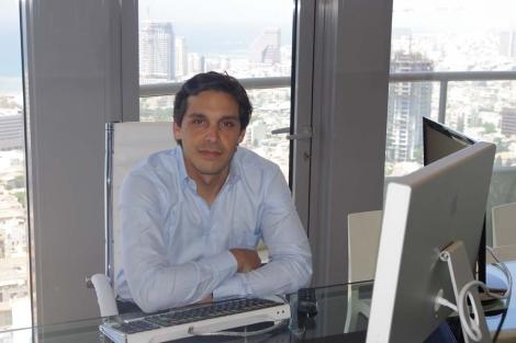 Isaac Benzaquen, en Tel Aviv.   Mateo Rouco