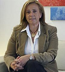 Pilar Martínez, directora general de Arquitectura y Vivienda. | Alberto Cuéllar