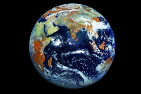 Imagen de la Tierra captada por el satélite ruso Elektro-L. | RFSA