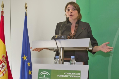 Elena Cortés, consejera de Fomento y Vivienda de la Junta de Andalucía. | Efe