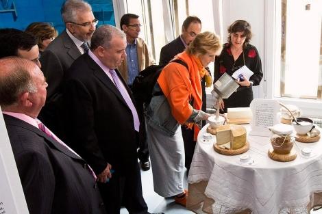 La periodista Mercedes Milá, en la inauguración del Museo de los Aromas. | Efe