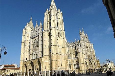 La catedral de León. | Foto: EL MUNDO.
