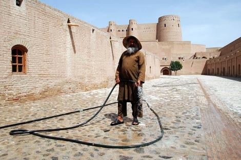 La ciudadela de Herat restaurada. Mònica Bernabé