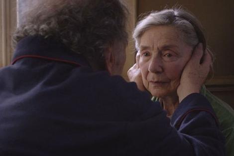 Jean Louis Trintignant y Emmanuelle Riva, en un fotograma de 'Amour'.