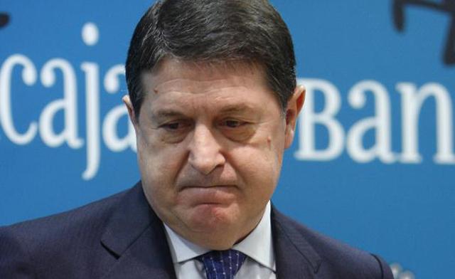 José Luis Olivas en un Consejo de Administración de Bancaja   Foto: Vicent Bosch