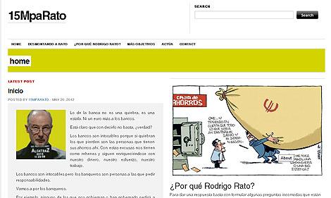 Imagen de la web '15MpaRato'