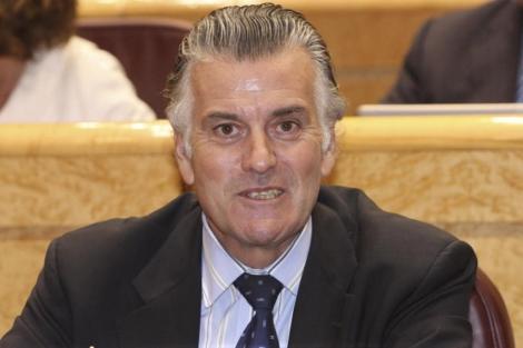 El ex tesorero y ex senador del PP, Luis Bárcenas.   EL MUNDO