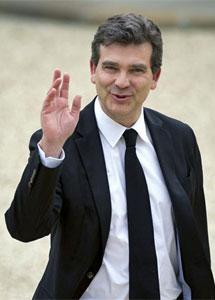 El ministro Montebourg.  Afp
