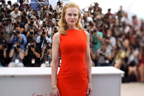 Nicole Kidman, ante la prensa.   Afp