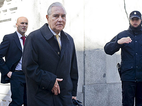 El presidente del CGPJ, Carlos Dívar, en una imagen de archivo. | Gonzalo Arroyo