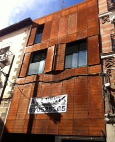 San Vicente Ferrer, 78, 6 pisos de nueva planta. | E.M.