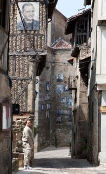 Típica calle de Mogarraz. | Ical