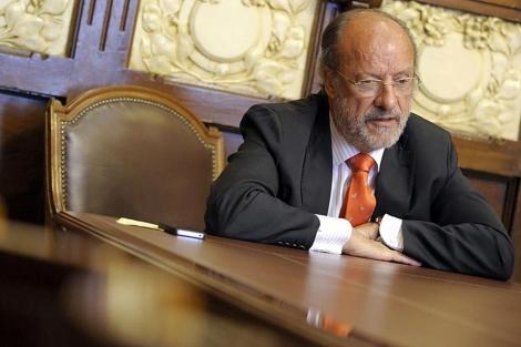 El alcalde de Valladolid, Javier León de la Riva. | Efe