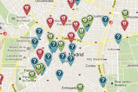 Imagen del mapa del portal guiagarrafon. | E. M.