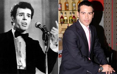A la izquierda, Julio Iglesias de joven. A la derecha, Alejandro Tous.