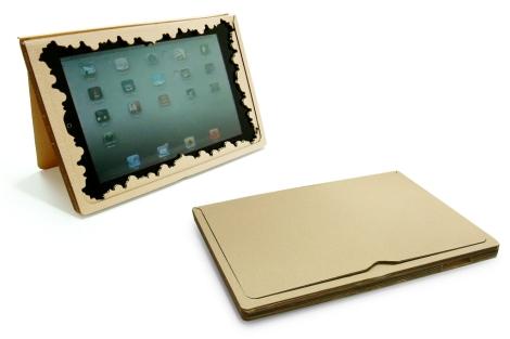 Marco para el iPad creado por el estudio Sanserif Creatius.