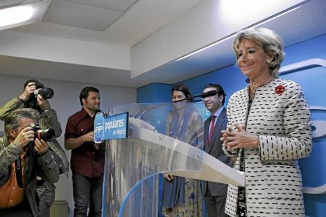 Esperanza Aguirre, en una imagen reciente. | E. M.
