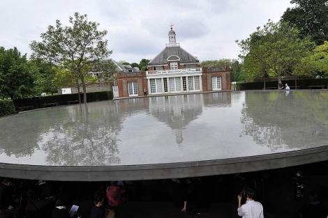 Vista del pabellón de la galería Serpentine de Londres.| Efe/Andy Rain