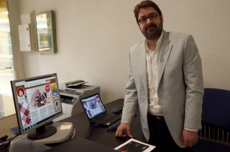 Alejandro Casanova, uno de los creadores del proyecto 'Mamá mándame'. | Begoña Rivas