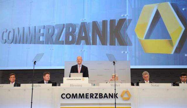 Commerzbank necesitó 8.200 millones del Estado alemán en 2008. | Efe