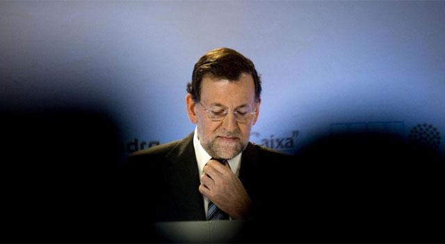 Mariano Rajoy, el sábado en Sitges. | Santi Cogolludo