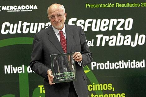 Juan Roig, presidente de Mercadona. | José Cuellar