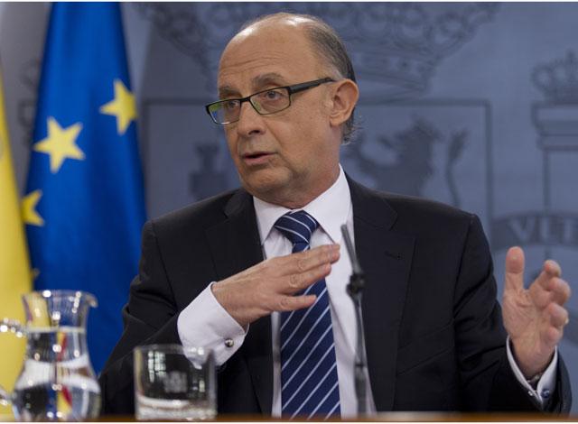 Cristóbal Montoro, ministro de Hacienda. | Alberto Cuéllar