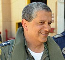 Amir Eshel, jefe de la Fuerza Aérea israelí.