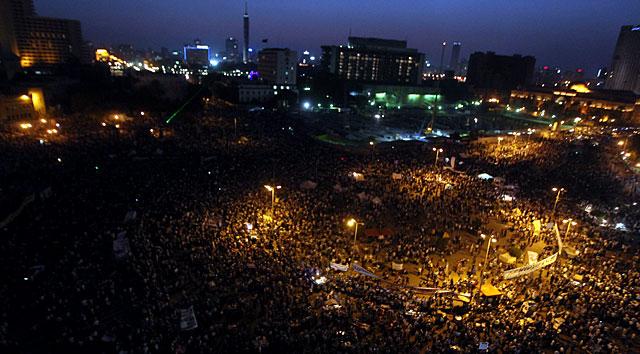 Protesta en Tahrir. | Efe