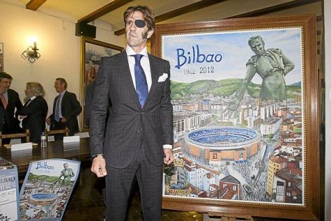 El diestro Juan José Padilla durante una reciente visita a Bilbao. | Iñaki Andrés