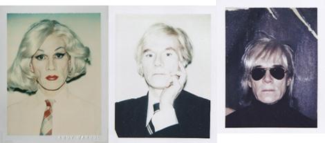 Tres 'polaroids' expuestas en la galería Cayón.