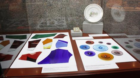 Las pruebas de vidrios de Gaudí. | Centro Cultural Blanquerna