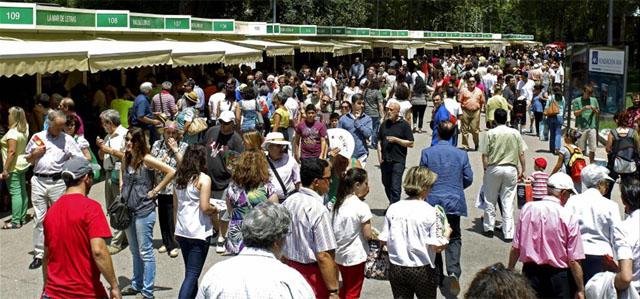 Aspecto de la Feria en la mañana del 9 de junio. | Efe