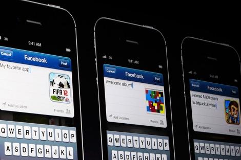 Aplicación para iPhone, en la Conferencia de Desarrolladores. | Reuters