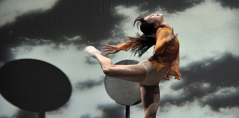 La bailarina Soojee Watman, en una coreografía de Forsythe. Vea más imágenes