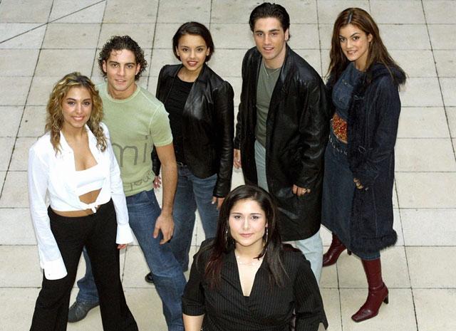 Concursantes de la primera edición de OT, en una imagen de archivo. | Gtres
