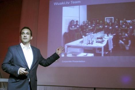 El consejero delegado de la plataforma de Wuaki.tv, Jacinto Roca. | Efe
