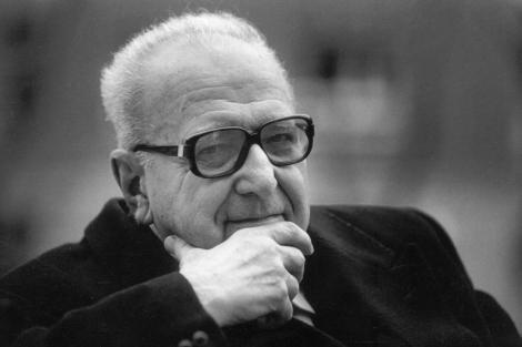 El filósofo francés Roger Garaudy, en 1995. | Javier Martínez
